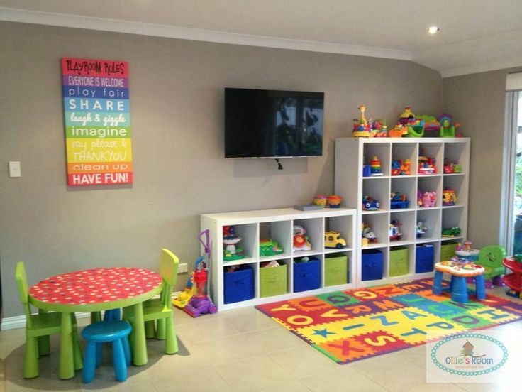 Playroom Storage Solutions For Kids