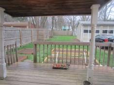 Back Yard - April
