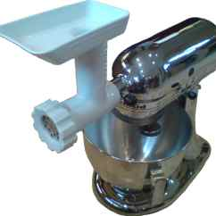Kitchen Aid Meat Grinder Attachment Free Standing Cabinets For Kitchenaid Stand Mixer Food Mincer Ebay