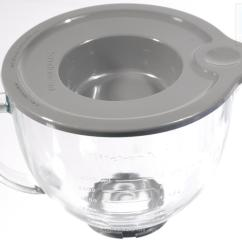 Kitchen Aid Glass Bowl Snaking A Drain Kitchenaid Clip On Cover Ebay