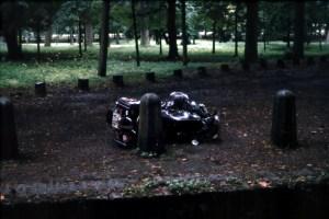 1981 im Park von Versailles... und das war nur eine BMW (220kg) und wir waren zu zweit!