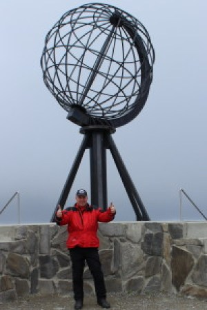 Hey Holli, ein Oelfuss am Nordkapp!