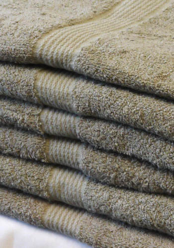 Brown Bath Towels