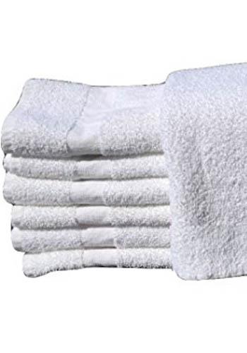 16x27 white hand towels