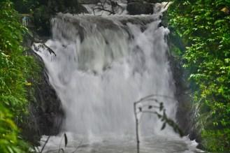 Lower cascade of Kabigan Falls