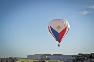 The Philippine Flag Balloon at the 21st Philippine International Hot Air Balloon Fiesta