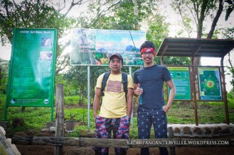 Sir Renato Reyes, our trail guide