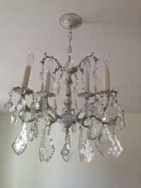 DIY: Cheap & Cheerful Chandelier Makeover