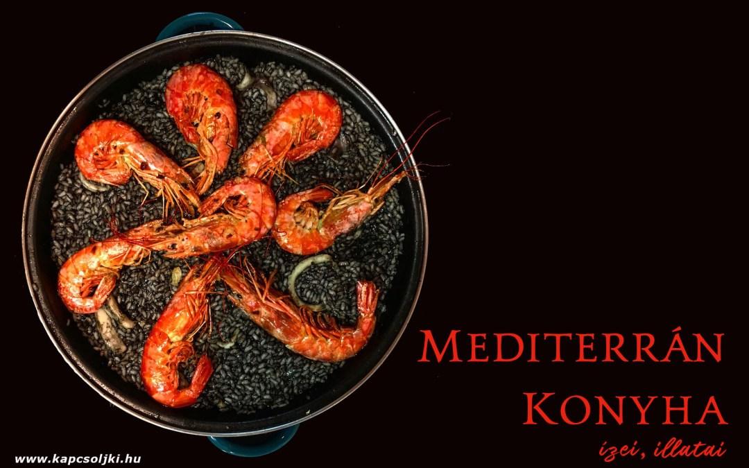 A mediterrán konyha ízei, illatai Horvátországban