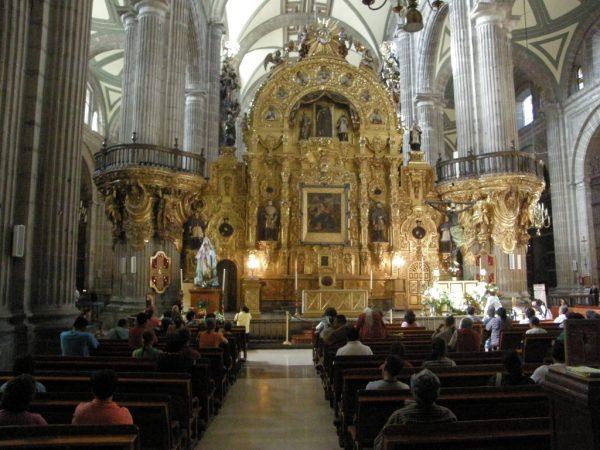 Mexico city kerk