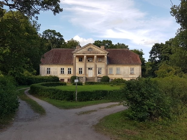 Landhuis omgeving Kuldiga