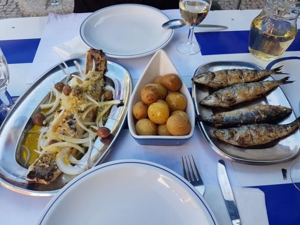 vis bacalhau sardines porto