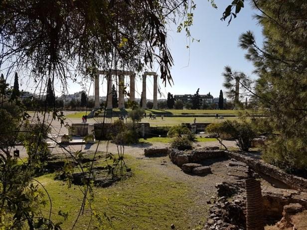 Olympisch Zeus tempel