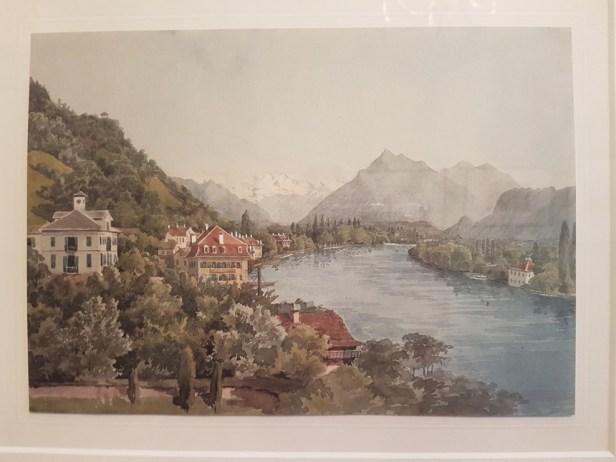 Aquarel Mendelssohn