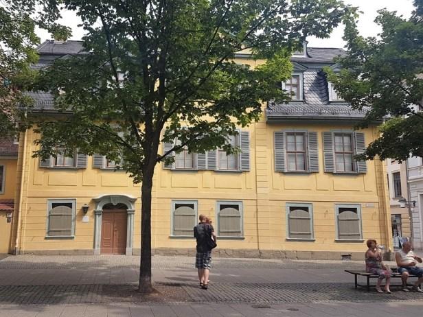 Weimar woonhuis Schiller