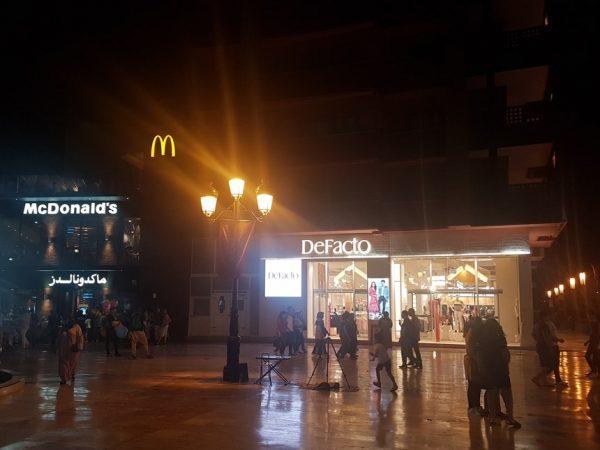modern marrakesh night