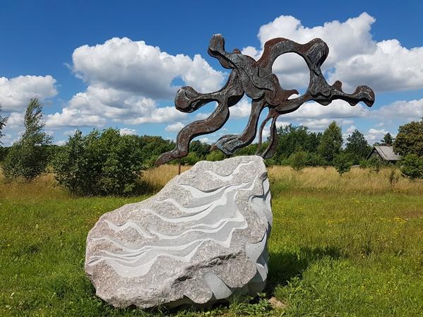 rock bronse pedvale art museum