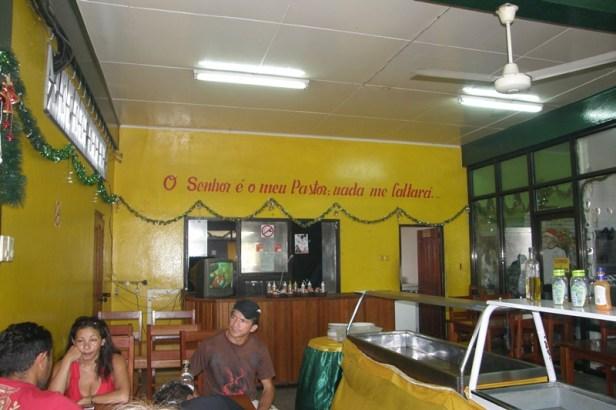 Braziliaans, Paramaribo, eten
