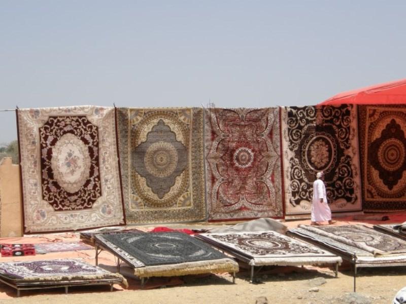 Ibra, oman, markt, tapijt