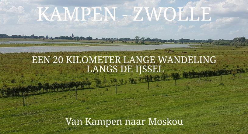 Kampen naar Zwolle wandelen