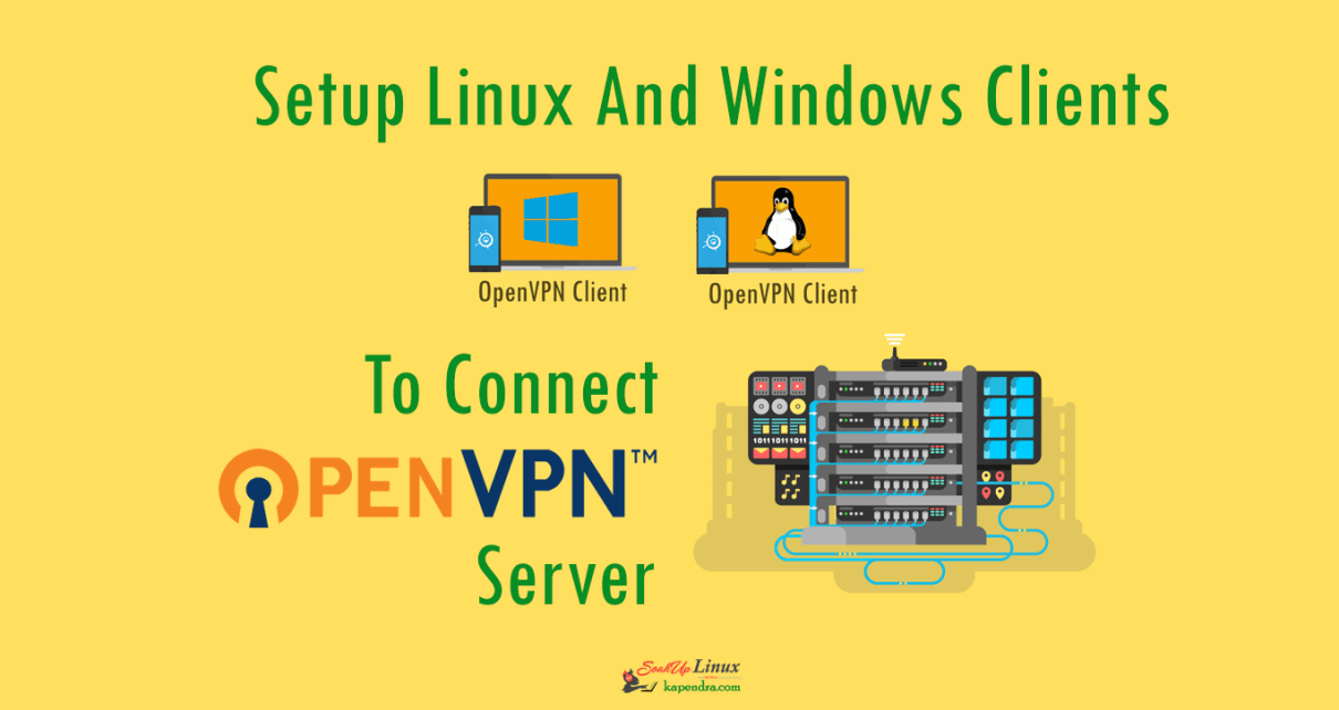 Setup Linux And Windows Clients To Connect With OpenVPN Server In RHEL/CentOS 6/7