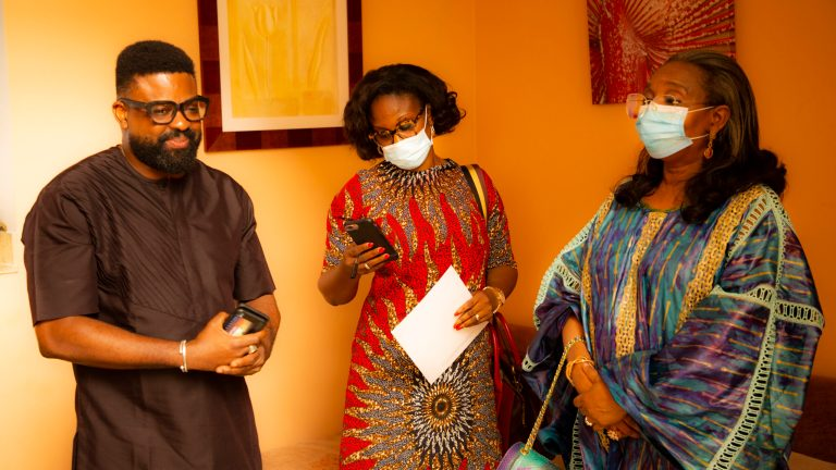 Unveiling our Surprise Cast in the Movie Citation, Dr. Mrs Ibukun Awosika!