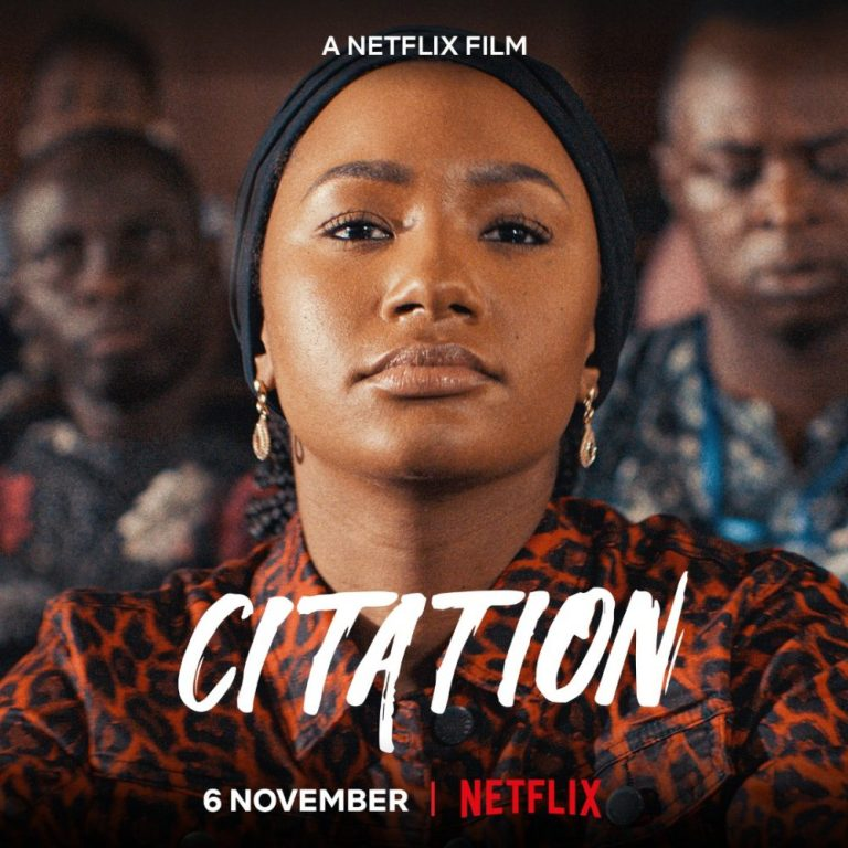 Netflix's Official Trailer for Citation, The Video of the Exclusive Premiere of #Citationthemovie & The Unveiling of the Citation Original Soundtrack Album