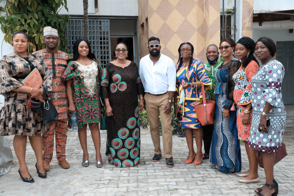 An Honorary Visit from the Director-General of the Centre for Black and African Arts and Civilization (CBAAC) At the HUB.