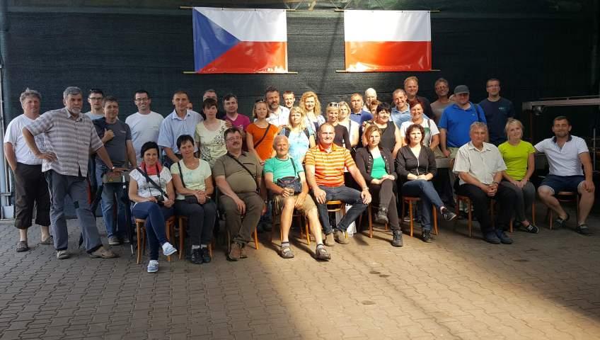 Grupa Kapias -wizyta czeskich szkółkarzy