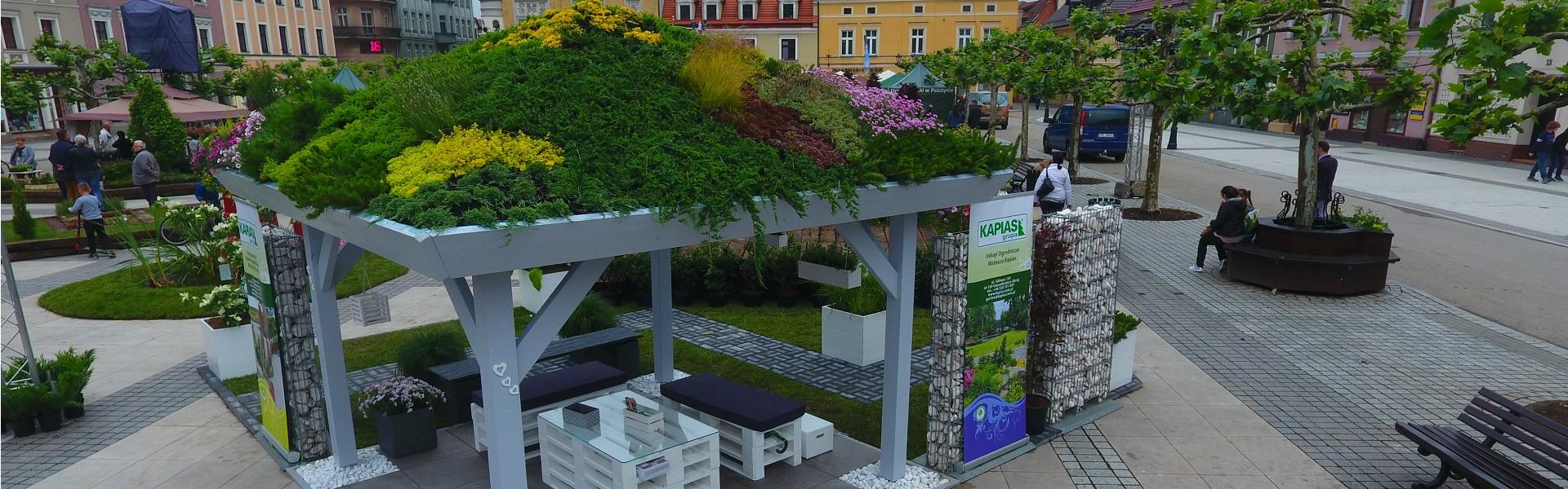zielona altana