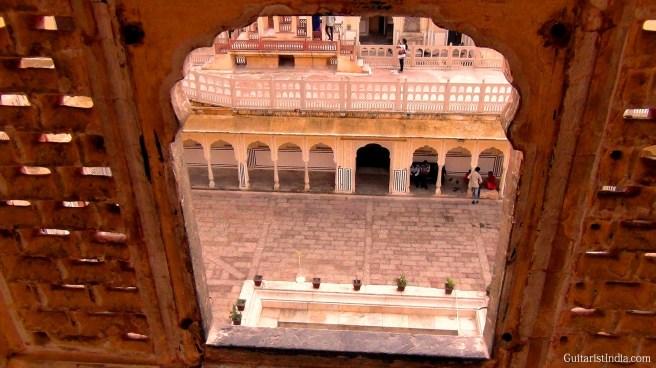 Hawa Mahal Window Image