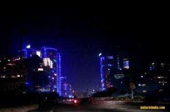 Roads on Diwali Day