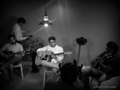 Kapil Guitarist for Music Shoot Guitarmonk