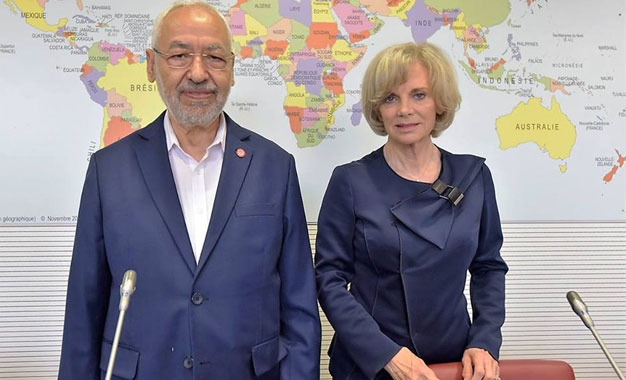 """Résultat de recherche d'images pour """"photos Elisabeth Guigou avec rached Ghannouchi"""""""