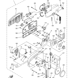 yamaha 703 control converting pull to pushthis part 2 in the parts diagram  [ 3307 x 4567 Pixel ]