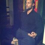 Gabe Meditating