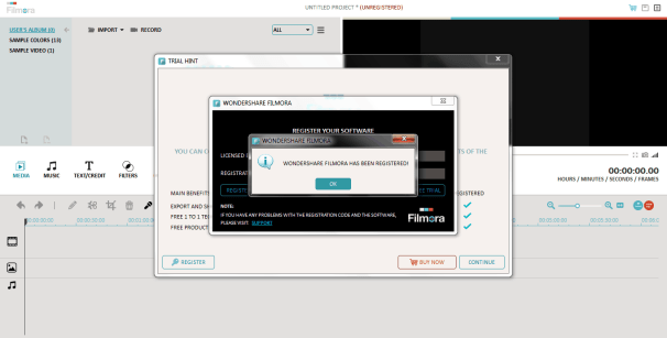 Descarga gratuita de Wondershare Filmora 9 crack