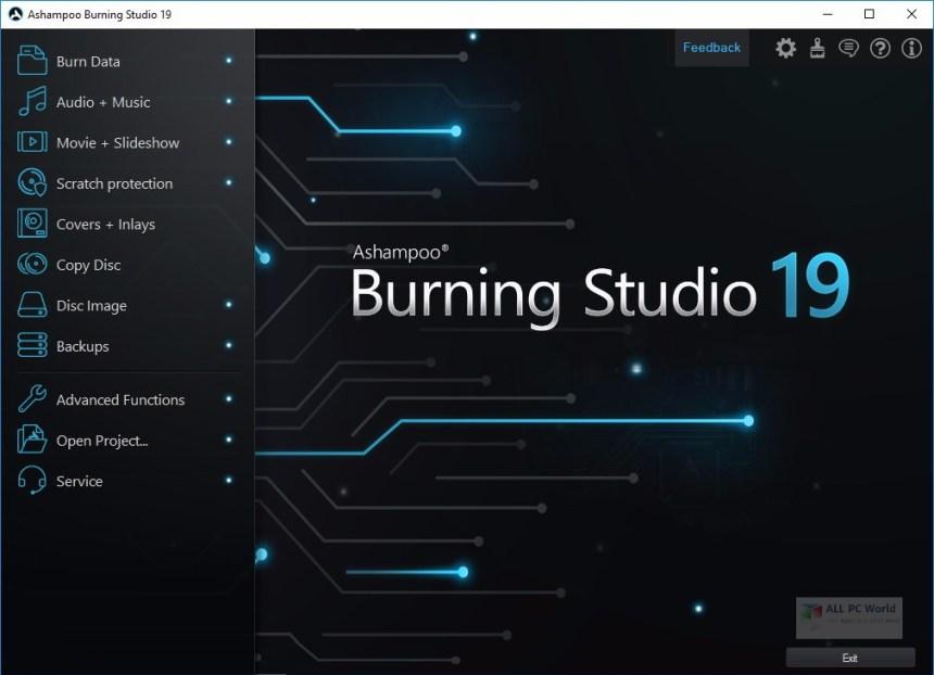 Revisión de Ashampoo Burning Studio 19