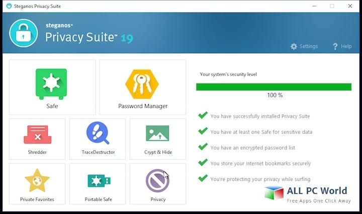 Steganos Privacy Suite 19 Revisión