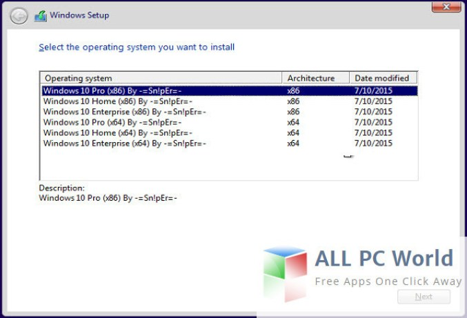 Windows 10 All in One Latest RTM OEM Final ISO Descarga gratuita