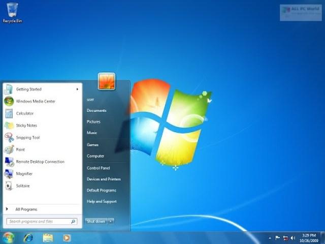 Descarga gratuita de Windows 7 Ultimate SP1 Lite Edition 2019