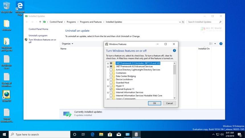 Windows 10 AIO 19H1 Feb 2019 Descarga gratuita