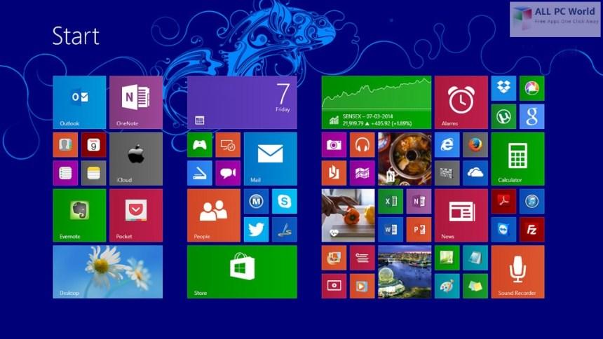 Windows 8.1 AIO 8 en 1 noviembre de 2019