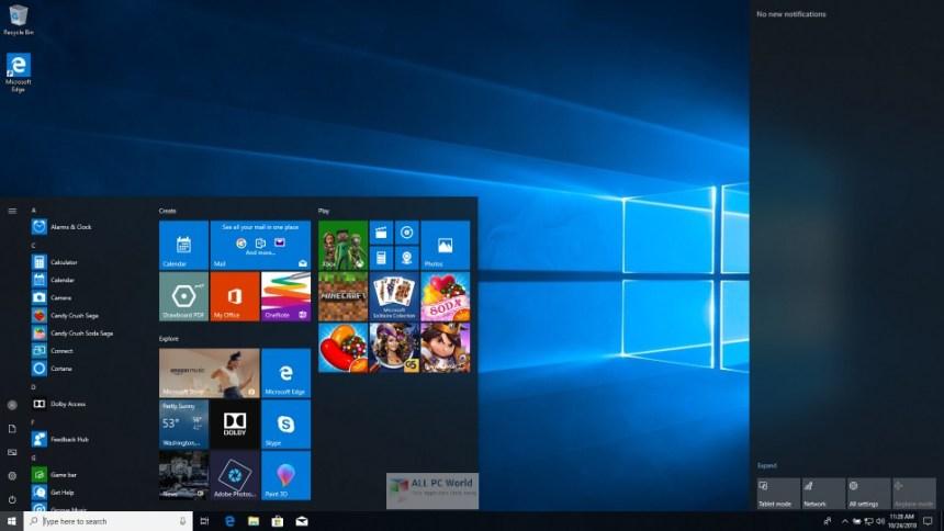 Windows 10 RS5 AIO v1809 marzo de 2019 Descarga gratuita