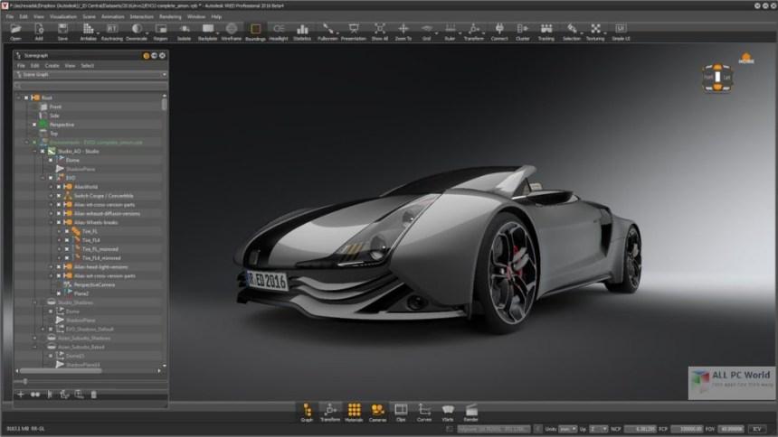 Autodesk VRED Professional 2019 Descarga gratis