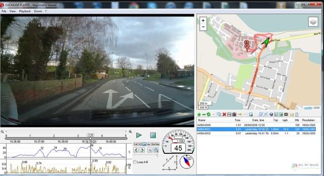 Visor de cámara de tablero 3.1