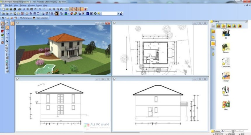 Chief Architect Home Designer Professional 2019 v20.3 Descarga gratuita
