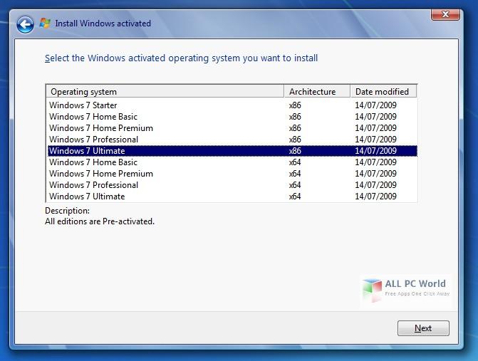 Descargue Windows 7 AIO DVD ISO con actualizaciones de junio de 2017 gratis