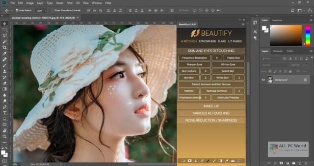 Embellecer para Adobe Photoshop 1.6 Enlace de descarga directa