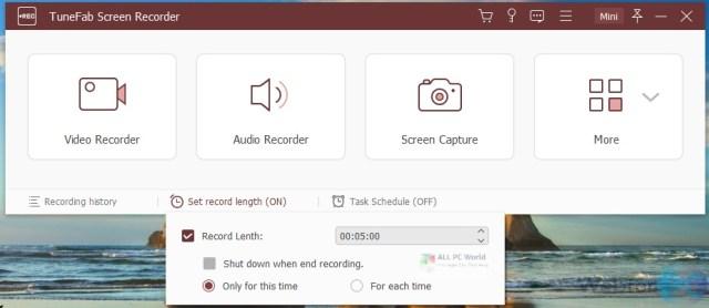 TuneFab Screen Recorder 2.2.12 Enlace de descarga directa